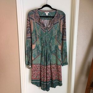 Sundance Long Sleeve Dress